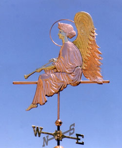 Angel-Weathervane-In-Repose-P