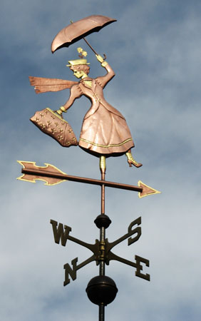 Mary Poppins Weathervane Custom Design Amp Metals