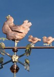 Hen-Weathervane-with-Chicks-and-Eggs-P