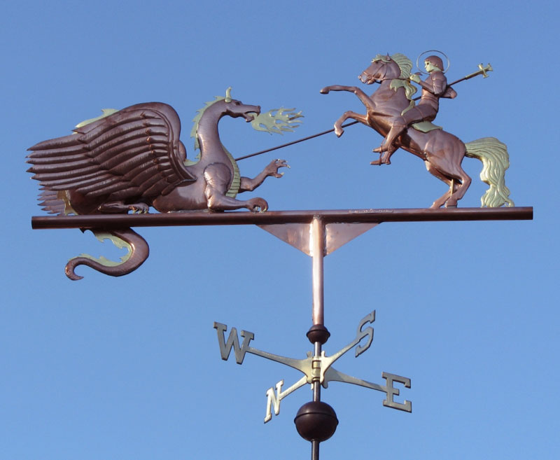 Weathervanes >> Four Main Styles Of Weathervanes - West Coast Weathervanes