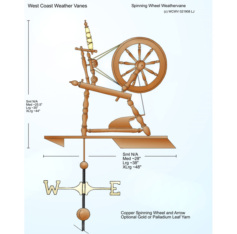 click to enlarge mg td weathervane drawing click to