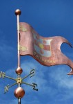 Decorative Banner Weather Vane #1