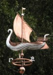 Elven Ship Weather Vane