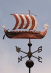 Viking Ship Weather Vane