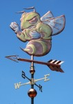 Yellow Jacket Weather Vane