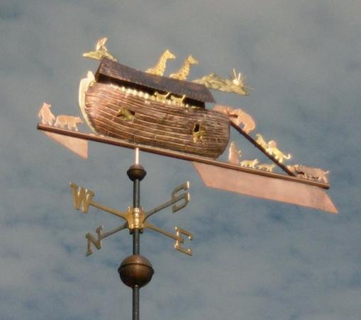 Noah's Ark Weathervane