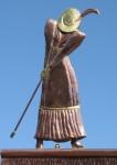 Golfer-Weathervane-Man-and-Woman-W4