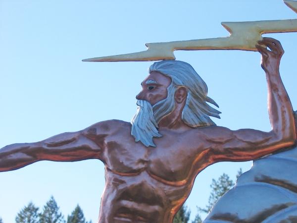 Zeus Weathervane ...