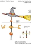 Witch-Hat-Weathervane-with-Broom-Drawing-101515-W1