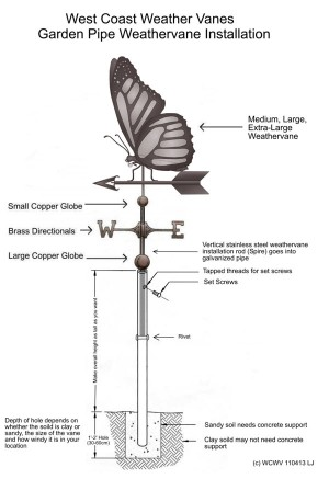 Garden-Installation-Butterfly-Weathervane-Drawing-P