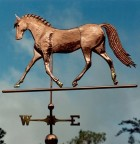 Basic Dressage Horse Weathervane, Version 1