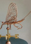 Mayfly with hook