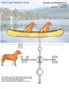 Canoe-Weathervane-with-Labs-082314-W2