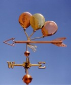 Three Balloon Weathervane