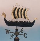 Viking-Ship-Weathervane-Gold-032715-W