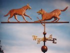 Dog Weather Vane Belgian Malinois Double